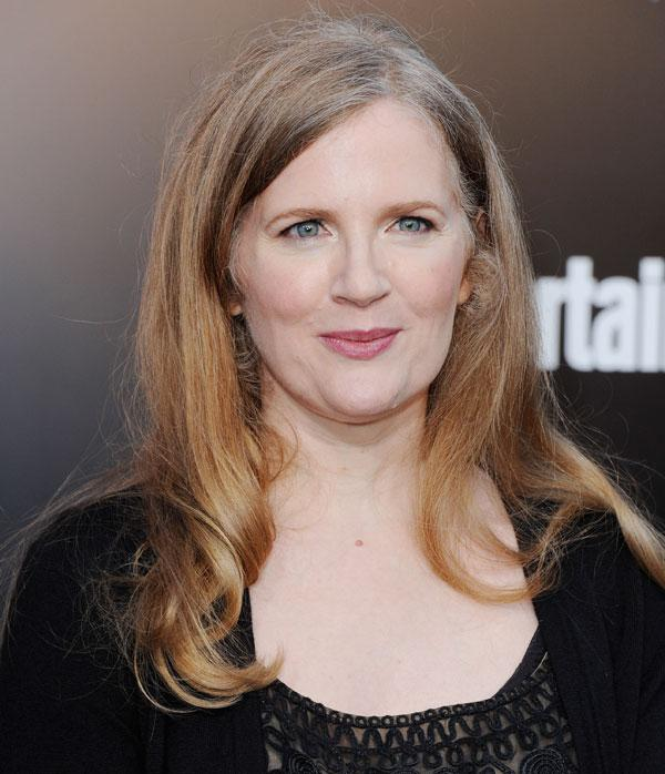 """The Bone Season"" shares elements with other genre mega-franchises, including ""The Hunger Games"" by... [+] Suzanne Collins (pictured). Credit: Jon Kopaloff/Getty Images"