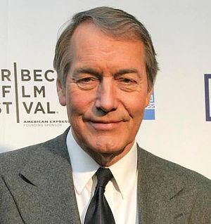 English: Charlie Rose – Tribeca Film Festival ...