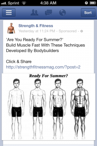 Will Facebook's emphasis on improving ad quality rescue me from ads like this?
