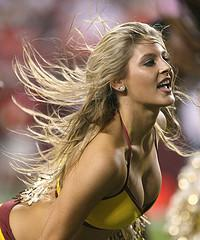Washington Redskins Cheerleader