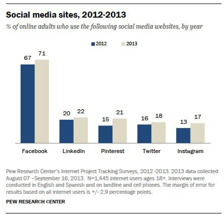 pew social networking