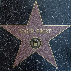 The Star for Roger Ebert is seen on the Hollyw...