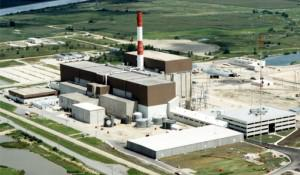 Last week Exelon canceled plans to upgrade the Lasalle nuclear plant in Illinois (above) and the Limerick plant in Pennsylvania. Exelon officially blamed subsidies for wind power, but an Exelon executive in Chicago fingered cheap natural gas. Photo: Exelon