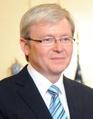 English: Kevin Rudd, 26th Prime Minister of Au...