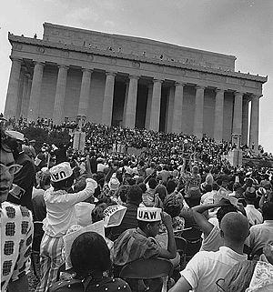 Civil Rights March on Washington, D.C. at the ...