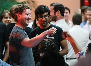 PALO ALTO, CA - AUGUST 18:  Facebook founder a...