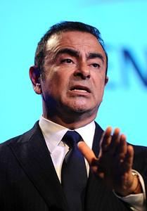 Carlos Ghosn, President and CEO of Renault-Nis...