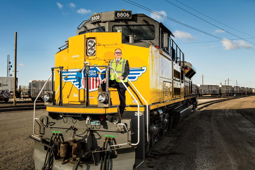 Union Pacific Chief Jack Koraleski: rail is a true success story (Photo Credit: Ryan Donnell For Forbes)