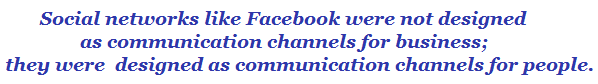 social business network communication channels