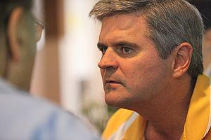 English: Steve Case, founder of AOL at Kinnern...