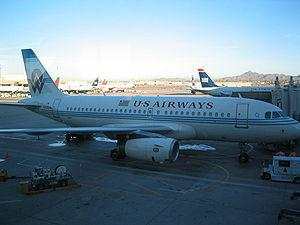 US Airways/America West Airlines Airbus A319-1...