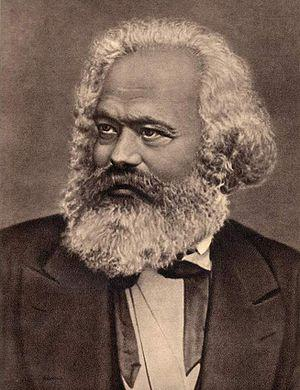 English: Karl Marx