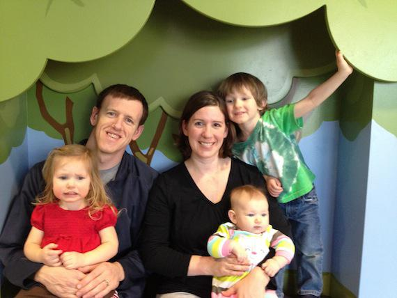 Andy Traub and his family. (Photo courtesy of Andy Traub)