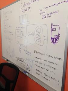 The Scanadu whiteboard: sketching the future