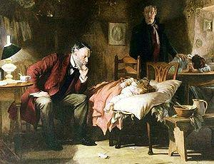 The Doctor, by Sir Luke Fildes (1891)
