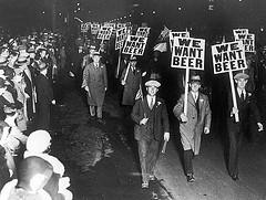 we want beer now