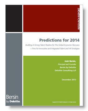Bersin Predictions for 2014
