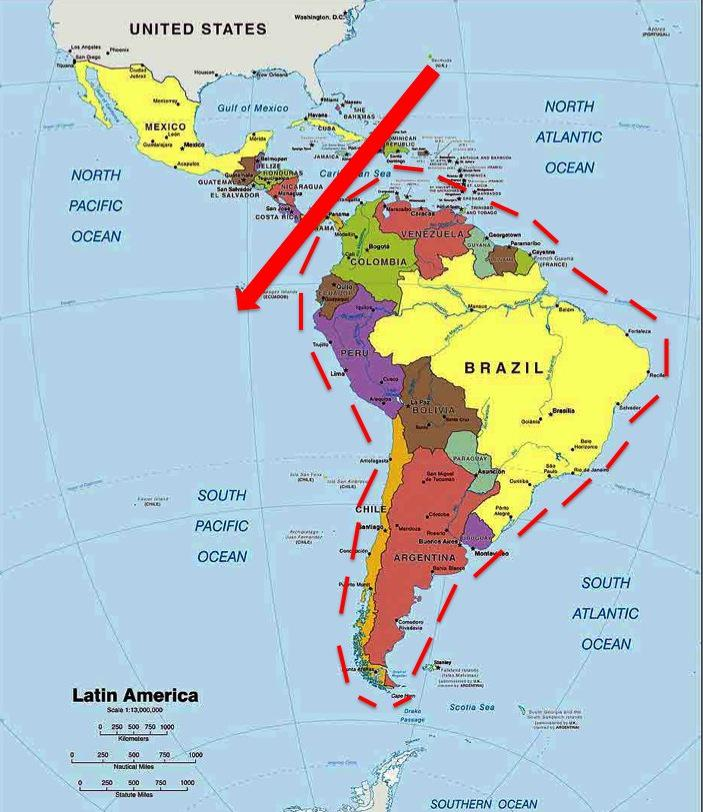 Slide1 Panama C On A Map Of South America on tierra del fuego on a map of south america, new granada on a map of south america, lake titicaca on a map of south america, amazon basin on a map of south america, amazon river on a map of south america,