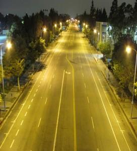 Los Angeles Completes World S Largest Led Street Light