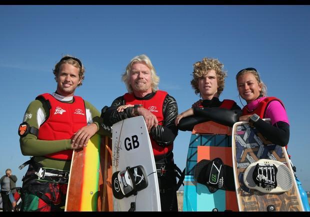 Richard Branson Celebrates Birthday With Channel Kite ...