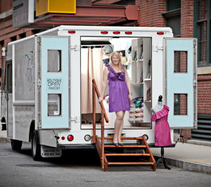 Emily Benson, owner of Boston's The Fashion Truck.