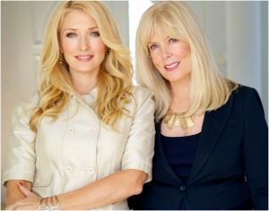 Amber and Jill Kelleher (l-r), Jill Kelleher founded the high end matchmaking firm in 1986.