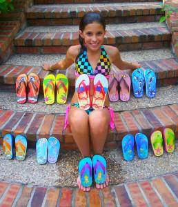 Over $1 Million In Sales For The 15-Year-Old Entrepreneur Behind Fish Flops