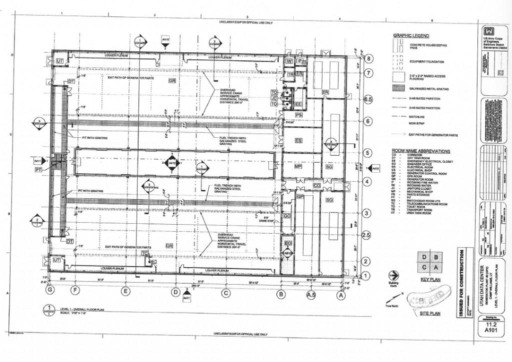 Blueprints of nsa 39 s ridiculously expensive data center in for Construction plans online
