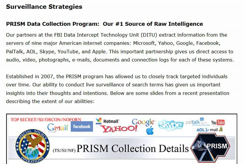 The parody NSA is excited to get to talk about what it's doing thanks to classified documents going... [+] viral