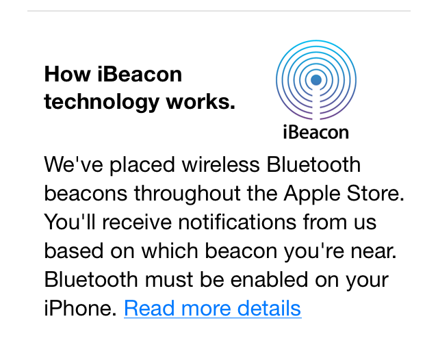 Your phone is now a homing iBeacon.