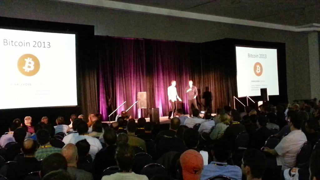 Winklevii keynote at Bitcoin 2013