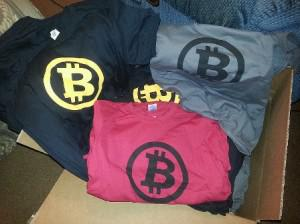 Bitcoin t-shirts for Bitcoin