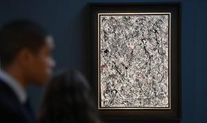 Jackson Pollock's No 19 and a few other paintings achieved the top prices at auction last week, but not the biggest returns. (Image source: Christie's)