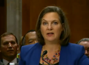 Victoria Nuland, Assistant U.S. Secretary of State for European Affairs at the U.S. Senate foreign policy committee held a January 15th hearing in Washington
