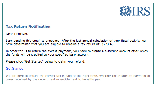 Dont Fall For Refund Related Email Phishing Scams