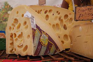 Emmental - Swiss cheese