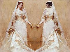 The Wedding Couple, after Abbot Handerson Thay...