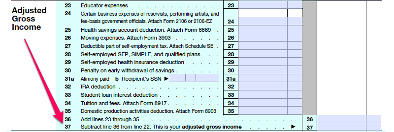 adjusted gross income - photo #19