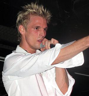 English: Paparazzo Presents...Aaron Carter's r...