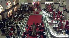 At Macy's Holiday Light Show