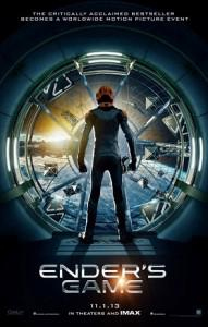 Enders Game the Movie will be out in November of this year