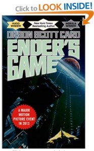 Enders Game by Orson Scott Card - Check it out on Amazon