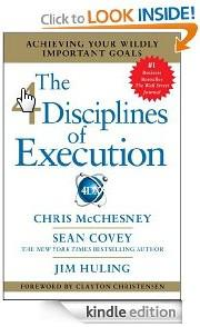The 4 Disciplines of Execution by Chris McChesney and Sean Covey