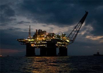 Petrobras' P-52 oil platform built by Keppel FELS, one of the biggest floating platforms in the... [+] world. It was shut down on Thursday by striking oil workers, along with 40 other oil rigs floating off the coast of Brazil's Atlantic Ocean.