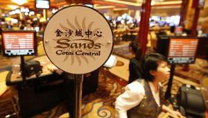 "The Sands in Cotai, the new casino ""strip"" in Macau."