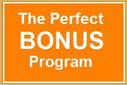 8 Secrets To A Perfect Bonus Program