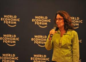 That's me at the WEF meeting in China. (Photo: World Economic Forum)