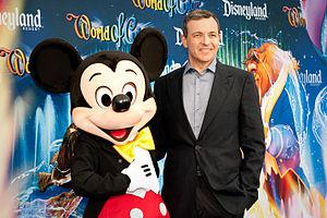 English: Bob Iger at the World of Color Premie...