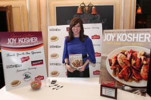 Celebrity chef Jamie Geller at book launch event