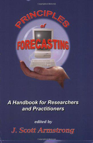 "Cover of ""Principles of Forecasting (Inte..."